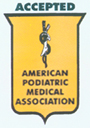 Accepted by the American Podiatric Medical Association