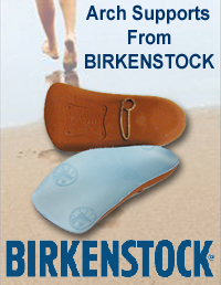 Birkenstock Blue Arch Supports