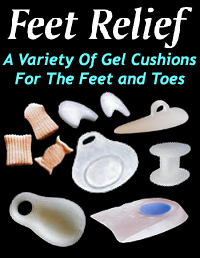 Gel and non gel products for the ball of the feet and toes