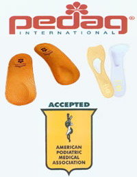 Pedag Arch and metatarsal supports
