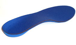 Powerstep Pinnacle orthotic arch supports single rear view