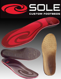 Sole Custom Footbeds