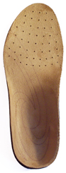 Sole Custom footbed top view