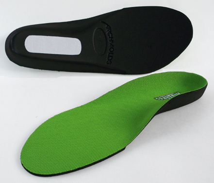 9a005e0f8a kidzerts full length children's arch support insoles one face up and one  face down
